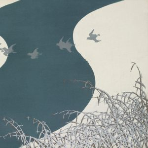 Image showing a selection of the painting Birds from Momoyogusa by Kamisaka Sekka